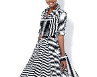 McCall's Pattern M7084 Misses' Dresses and Belt
