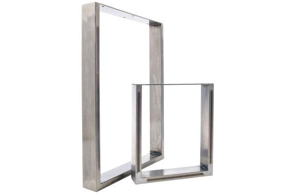 Table Legs - Dining Pedestals in Industrial Steel