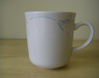 """Corelle by Corning 'Windflower' Cups or Mugs, 3-1/4"""" diameter x 3-1/2"""" tall"""