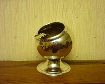 Vintage EPNS Silver Plated Astray. Ball Shaped Ashtray. Small Ashtray. One Person Ashtray.