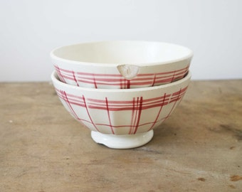 French vintage bistro bowl