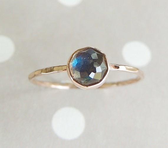 14k Labradorite Ring