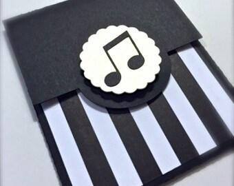 Music Gift Card Holder