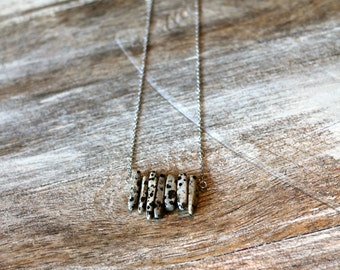 Spotted Jasper Bead Necklace