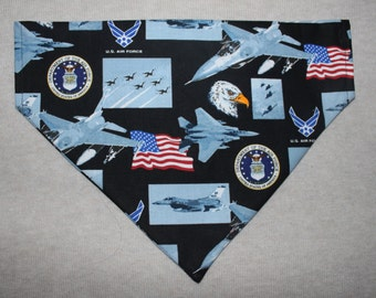 United States Air Force Dog Bandanna in Small, Medium & Large
