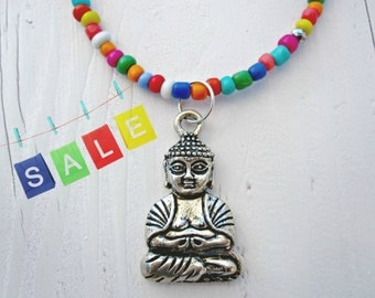 Summer Siddharta Necklace, Hippie Chic