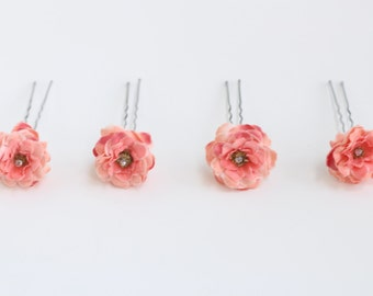 Hair Pins, Set of Four
