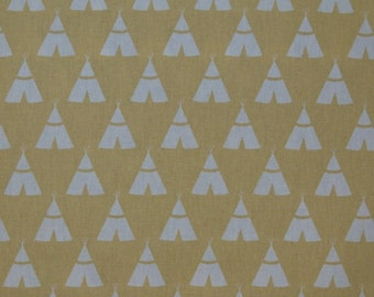 """Premier Prints TEE PEE Saffron Yellow fabric by the yard 54"""" wide or 5 color Choices"""
