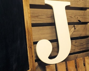 """Letter J   24""""   Barn Wedding Sign    Letters  A-Z also avail from 36"""" 40"""" 48"""" price varies    Barn Style Wedding   Rustic   Kitch   Vintage"""