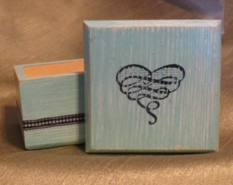 Blue Heart Box