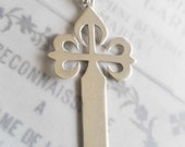 Cross - Cross of St James the Greater 31x59mm - Sterling Silver