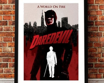 Daredevil Inspired A3 Print