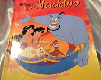 Disney's Aladdin, Adapted by Don Ferguson, Oversize Disney Children's Book,  A Princess, A Boy and a Genie.....