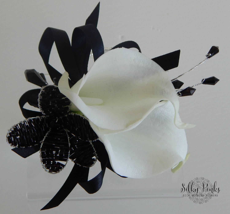 Black Orchid Corsage