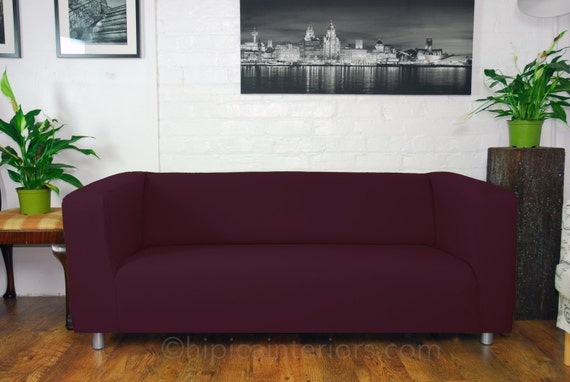 Ikea klippan sofa covers in many different colours easy to for Housse klippan