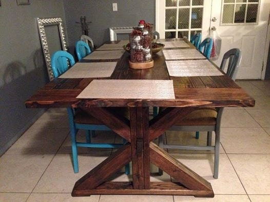 Rustic Farmhouse Table : ilfullxfull775535761dpsv from www.etsy.com size 526 x 394 jpeg 49kB