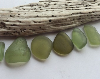 Soft Green Scottish Sea Glass SG 14.6.15.4