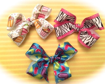 Big hair bows Assorted