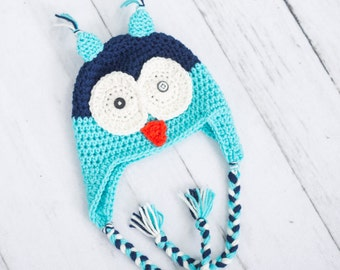 owl hat crochet owl hat crochet boy hat crochet boy owl hat toddler hat newborn hat newborn owl hat newborn photo prop earflap hat