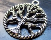 White Tree Of Gondor Charms - 5/10/20 Wholesale Lord Of The Rings Antique Silver Plated Pendants C0543