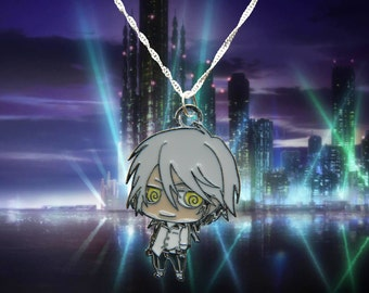 Psycho-Pass sterling silver necklace with Shogo Makishima charm  Free UK Postage!