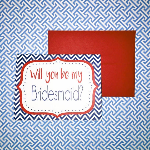 SALE Will you be my bridesmaid card, bridesmaid card, fun bridesmaid gift, bridesmaid proposal, bridesmaid greeting cards, engagement cards