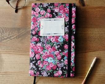 Notebook LINDU floral checkered