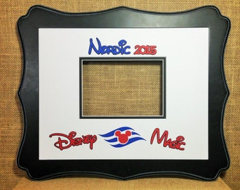 Disney Cruise Autograph Photo Mat Signature By Prizekeepers