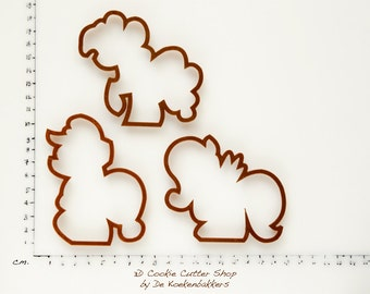 Ponies Cookie Cutter Set (budget versions)