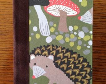 Hedgehog Blank Book