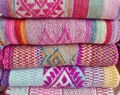 Frazadas / Rugs / Colorful Blankets from Peru - You Choose!