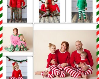 Matching christmas pajamas | Etsy