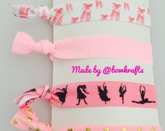 Ballerina hair tie set