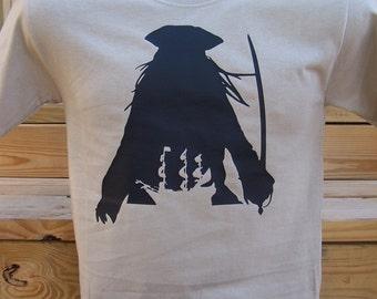 Captain Jack Sparrow Silhouette T-shirt