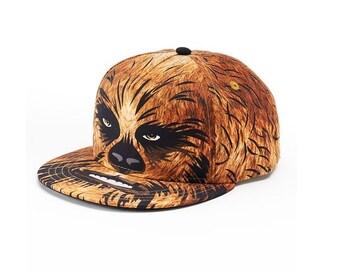 Star Wars Chewbacca Baseball Hat Flatbill Cap – Boys