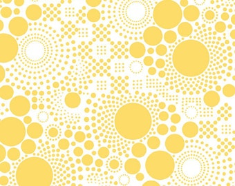 Hipster - Pop Yellow by Riley Blake Designs - C521-06 Yellow - Sold by the Yard