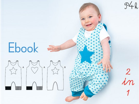 schnittmuster baby overall strampler babyanzug erstling. Black Bedroom Furniture Sets. Home Design Ideas