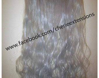 balayage dip dye 8a remy ombre balayage grau human clip in. Black Bedroom Furniture Sets. Home Design Ideas