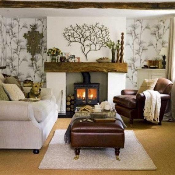 Barn Beam 8x5 Fireplace Mantel Floating Shelf