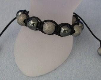 Woven bracelet shambala