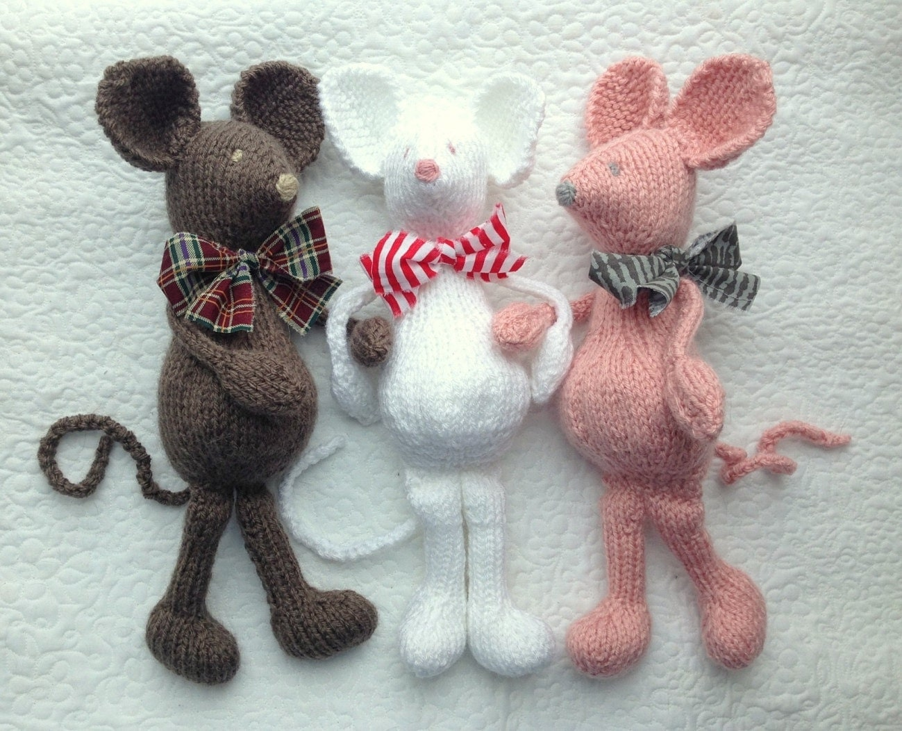 Soft Toy Patterns : Mouse knitting pattern soft toy pdf only heirloom