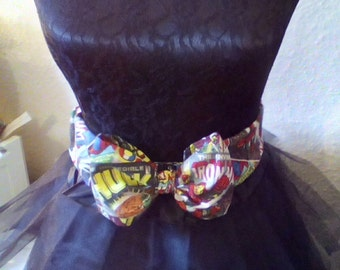 Marvel Elasticated Bow Belt