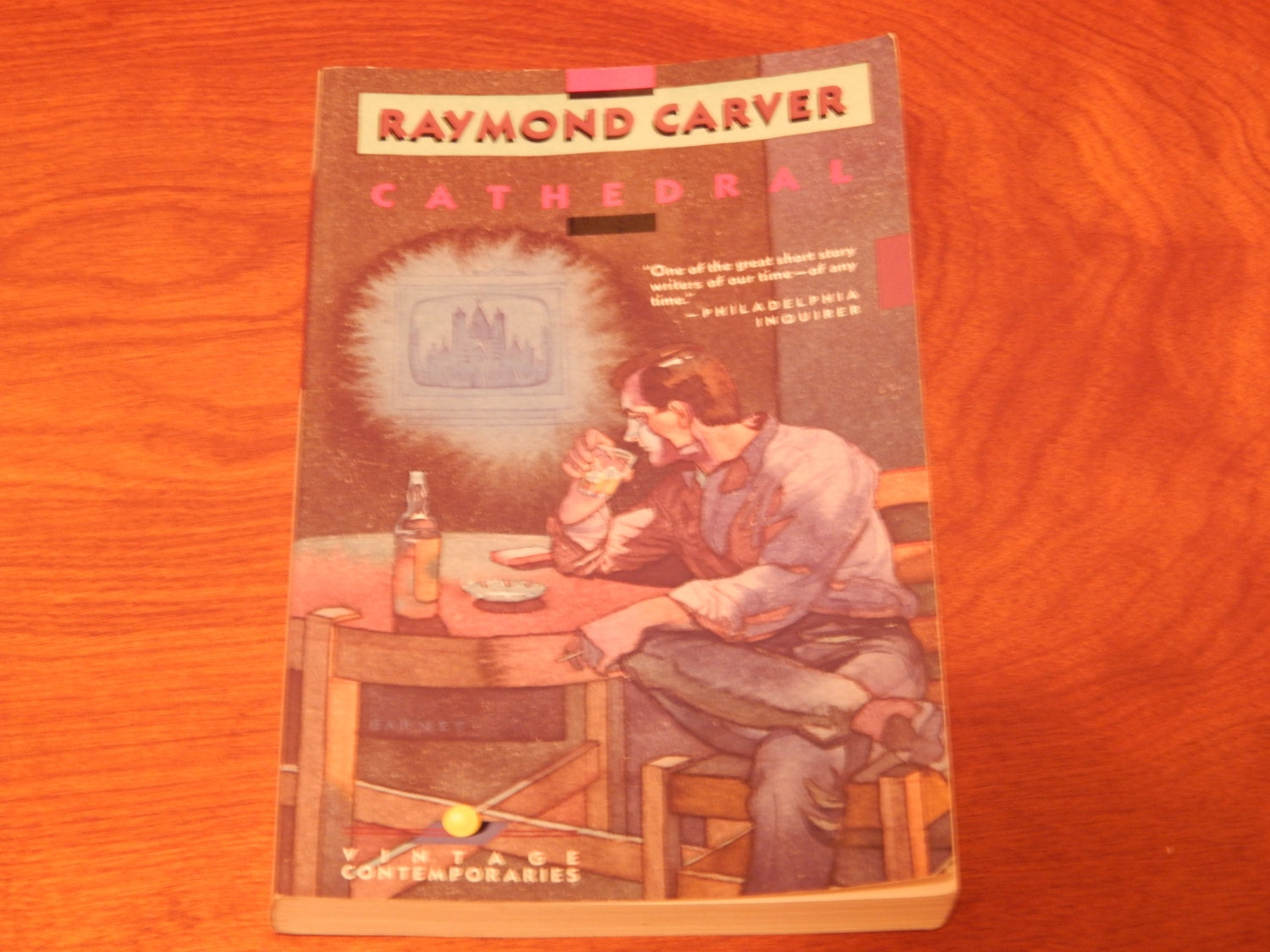 "raymond carver the cathedral essay Raymond carver's preferred method of delivering information to readers in his short story ""cathedral"" is one that is entirely coherent with the underlying theme of the impact of alienation and isol."
