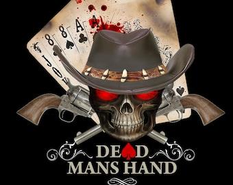 Dead Man's Hand Poker Tee Shirt