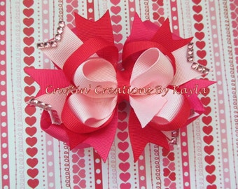 5 Inch Stacked Boutique Bow