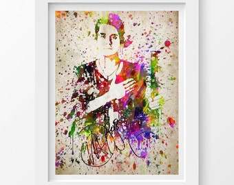 John Mayer Poster, John Mayer Print, John Mayer Art,Home Decor, Gift Idea