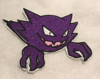 Pokemon Haunter Embroidered Patch Iron On Sew on