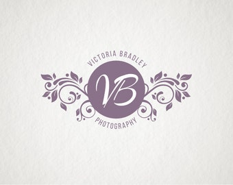 Premade logo design Photography logo Vintage Logo Company Logo Business logo design Watermark