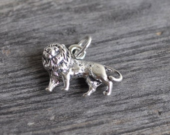 Sterling Silver Chow Chow Dog Charm Pendant Made in USA