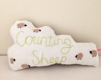 Counting Sheep Cloud cushion